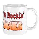 Property Of A Rockin Drum Teacher Mug