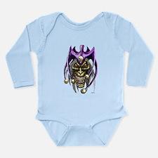 Evil Jester Skull Punk Baby Suit