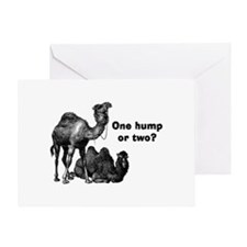 Funny Camels Greeting Card