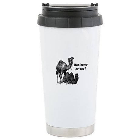 Funny Camels Stainless Steel Travel Mug