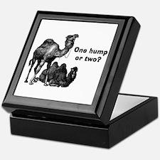 Funny Camels Keepsake Box