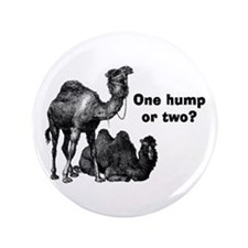 """Funny Camels 3.5"""" Button"""