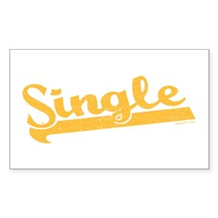 Single Rectangle Decal