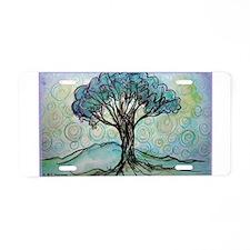 Tree! Tree of Life, Art! Aluminum License Plate