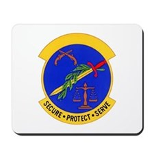 2853d Security Police Mousepad