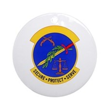 2853d Security Police Ornament (Round)