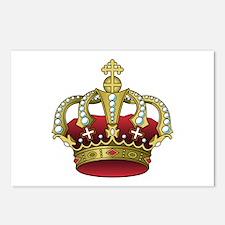 Royal Crown Postcards (Package of 8)