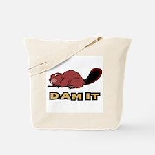 Funny Beaver Tote Bag
