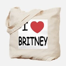 I heart Britney Tote Bag