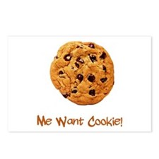 Me Want Cookie Postcards (Package of 8)