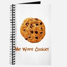 Me Want Cookie Journal