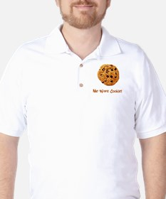 Me Want Cookie Golf Shirt