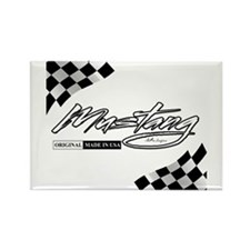 MustangFlags Rectangle Magnet