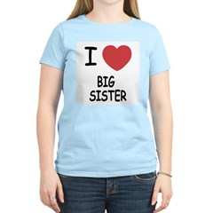 I heart big sister T-Shirt
