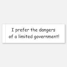 Limited Government Sticker (Bumper)