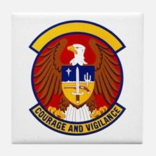 6510th Security Police Tile Coaster