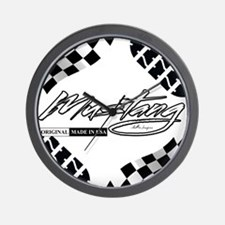 Mustang Tire Wall Clock