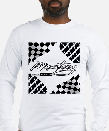 Mustang Tire Long Sleeve T-Shirt