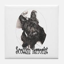 Scottish Terror Tile Coaster