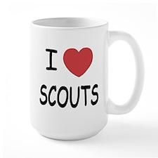 I heart scouts Mug