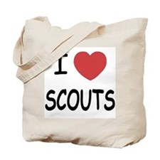 I heart scouts Tote Bag