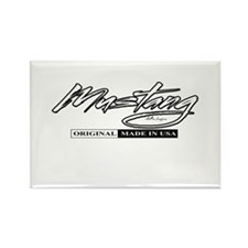 Mustang 2012 Rectangle Magnet