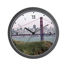 S.F. Skyline Wall Clock