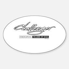 Challenger Sticker (Oval)