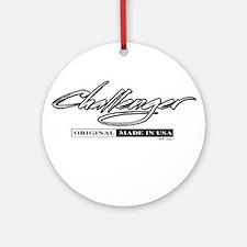 Challenger Ornament (Round)