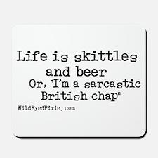 WildEyedPixie - Skittles&Beer Mousepad