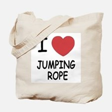 I heart jumping rope Tote Bag