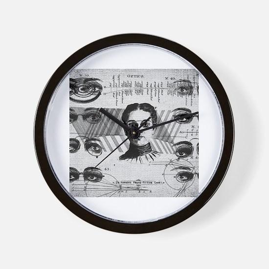 Cute Optometrist Wall Clock