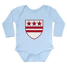 Cute 4th generation Long Sleeve Infant Bodysuit