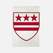 G.W. Heraldry Rectangle Magnet