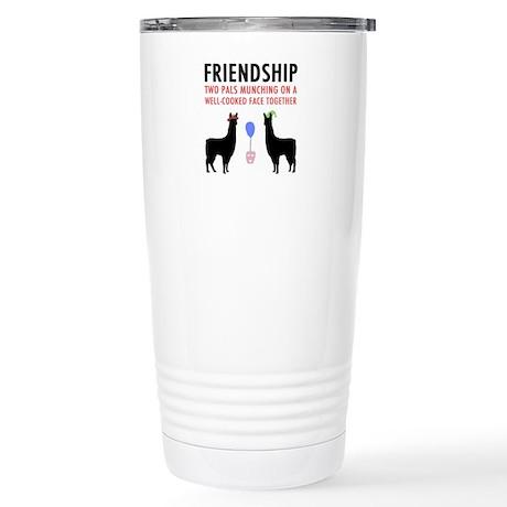 Friendship Stainless Steel Travel Mug