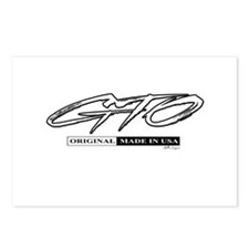 GTO Postcards (Package of 8)