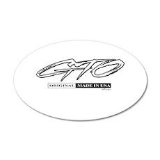GTO 22x14 Oval Wall Peel