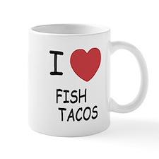 I heart fish tacos Small Mug