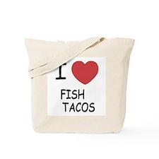 I heart fish tacos Tote Bag