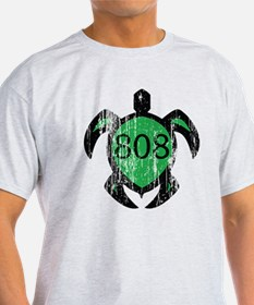 808 hawaiian turtle T-Shirt