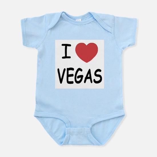 I heart vegas Infant Bodysuit