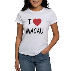 I heart Macau Women's T-Shirt