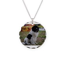Landseer Newfie Necklace