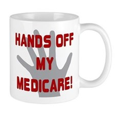Hands off my Medicare Small Small Mug