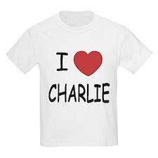 I heart charlie T-Shirt