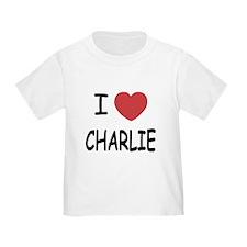 I heart charlie T