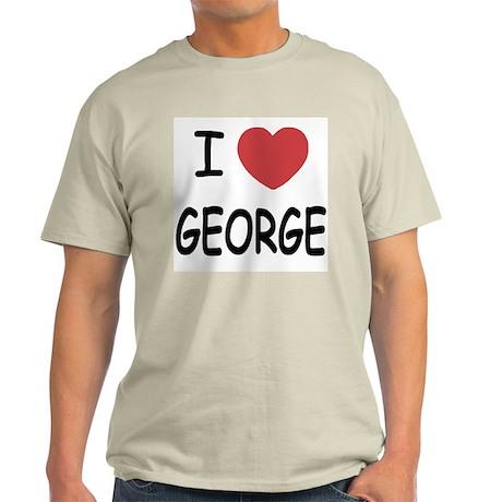I heart george Light T-Shirt