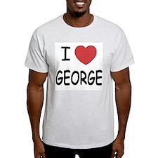 I heart george T-Shirt