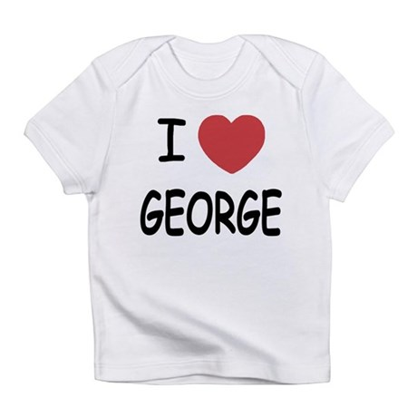 I heart george Infant T-Shirt