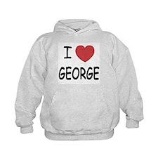 I heart george Hoodie